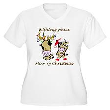 Cow Christmas T-Shirt