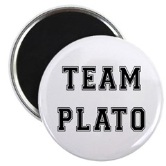 "Team Plato 2.25"" Magnet (100 pack)"