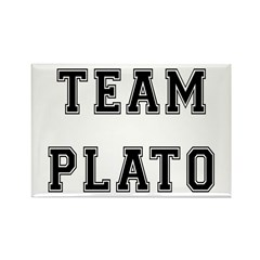 Team Plato Rectangle Magnet (10 pack)