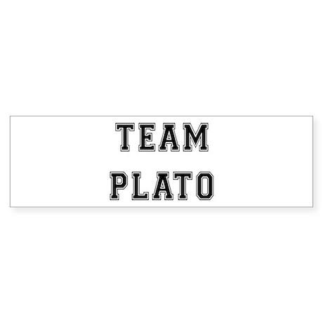 Team Plato Bumper Sticker