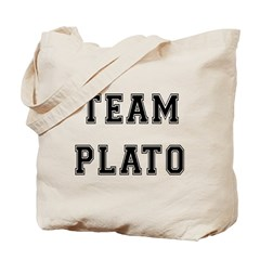 Team Plato Tote Bag