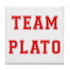 Team Plato Tile Coaster