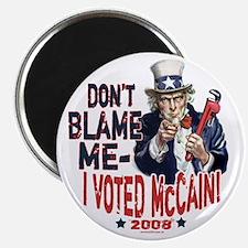 I Voted McCain Magnet
