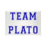 Team Plato Rectangle Magnet