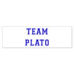 Team Plato Bumper Bumper Sticker