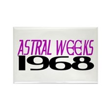 ASTRAL WEEKS 1968 Rectangle Magnet