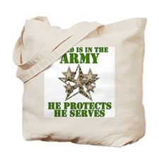 Army Dad Tote Bag