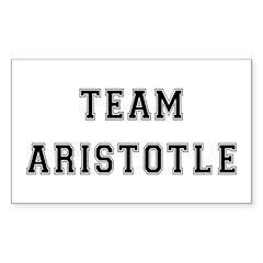 Team Aristotle Rectangle Decal