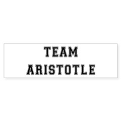 Team Aristotle Bumper Bumper Sticker