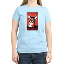Obey the Abyssinian! Cat T-Shirt