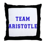 Team Aristotle Throw Pillow