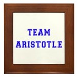 Team Aristotle Framed Tile