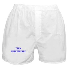 Team Shakespeare Boxer Shorts