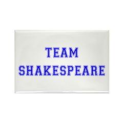 Team Shakespeare Rectangle Magnet (100 pack)