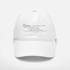 Definition of Quaker Baseball Baseball Cap
