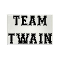Team Twain Rectangle Magnet (100 pack)