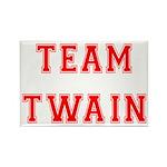 Team Twain Rectangle Magnet (100 pack)
