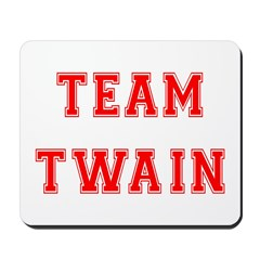 Team Twain Mousepad