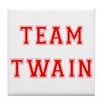 Team Twain Tile Coaster