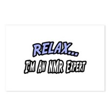 """Relax...NMR Expert"" Postcards (Package of 8)"