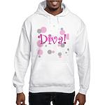 Diva Bubbles Hooded Sweatshirt