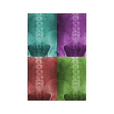 Digital X-Ray Art Rectangle Magnet