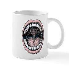 open wide Small Mug