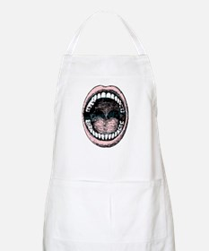 open wide BBQ Apron