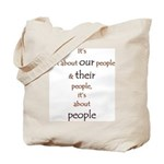 It's About People Tote Bag