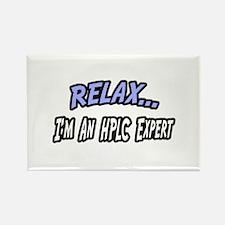 """""""Relax...HPLC Expert"""" Rectangle Magnet"""