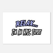 """""""Relax...HPLC Expert"""" Postcards (Package of 8)"""