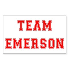 Team Emerson Rectangle Decal