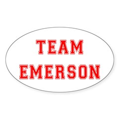 Team Emerson Oval Decal