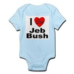 I Love Jeb Bush Infant Creeper