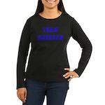 Team Emerson Women's Long Sleeve Dark T-Shirt