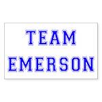 Team Emerson Rectangle Sticker