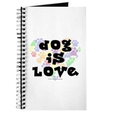 Dog is love, color Journal
