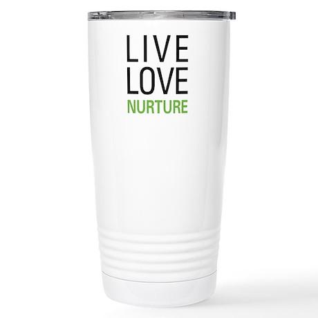Live Love Nurture Stainless Steel Travel Mug