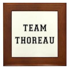 Team Thoreau Framed Tile