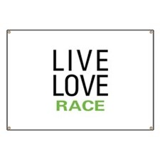 Live Love Race Banner