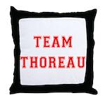 Team Thoreau Throw Pillow