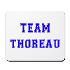 Team Thoreau Mousepad