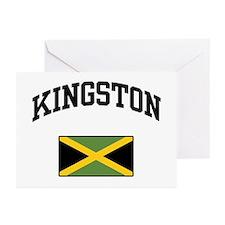 Kingston Jamaica Greeting Cards (Pk of 10)