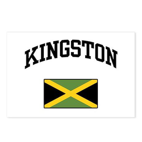 Kingston Jamaica Postcards (Package of 8)