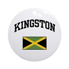 Kingston Jamaica Ornament (Round)