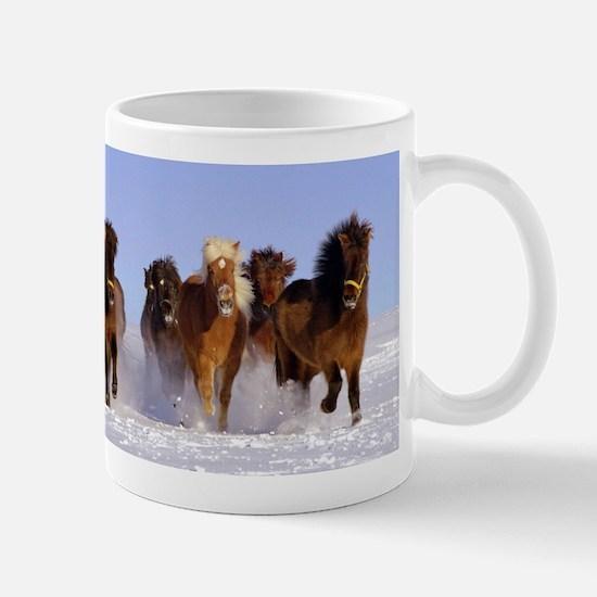Cute Icelandic horse Mug