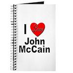 I Love John McCain Journal
