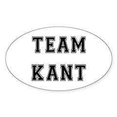Team Kant Oval Decal