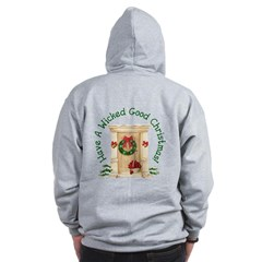 Wicked Good! Christmas Home Zip Hoodie