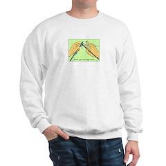 Knitting Hands Sweatshirt